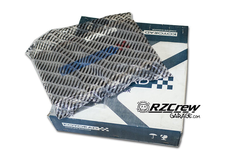 Koyorad HH Type 48mm Radiator - Toyota - Chaser JZX100 Tchaser (MT) - HH010860N - RZCREWGARAGE