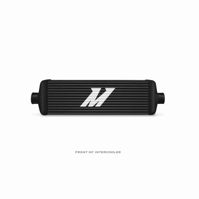 "Mishimoto Universal Intercooler J-Line 29.5in x 7.5in x 3.75"" Colour Black - MMINT-UJB"