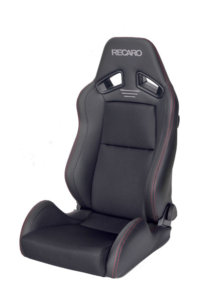 Recaro Japan SR-7 CLASSIC Reclinable Seat - Black,Black-R-SR-7-BB - Rzcrewgarage