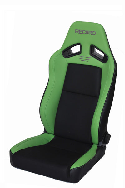 Recaro Japan SR-7F CLASSIC Reclinable Seat - Green,Black-R-SR-7F-GRB - Rzcrewgarage