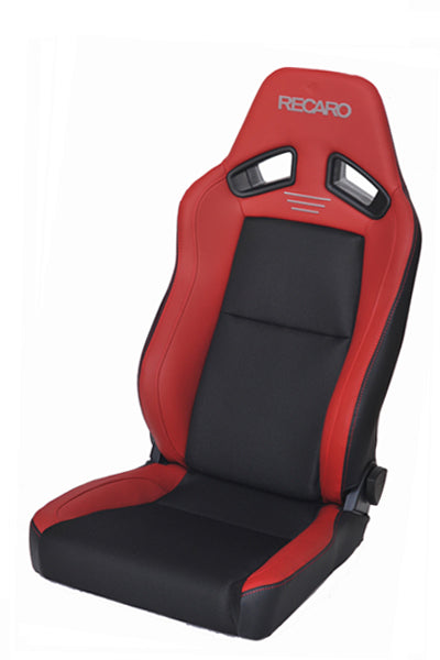 Recaro Japan SR-7F CLASSIC Reclinable Seat - Red,Black-R-SR-7F-RB - Rzcrewgarage