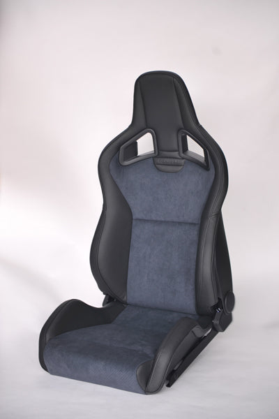 Recaro Japan SPORTSTER CL 100 H Reclinable Seat - Black,Gray-R-SS-CL-BG - Rzcrewgarage