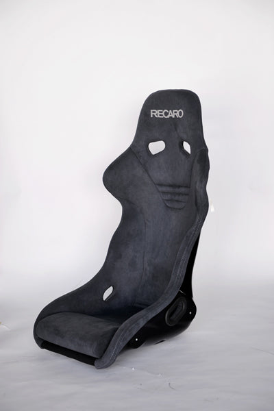 Recaro Japan TS-G ALCANTARA Version Fixed Bucket Seat - Gray-R-TS-GAL-G - Rzcrewgarage
