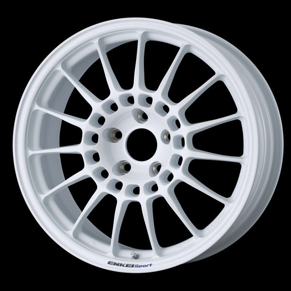 Enkei Japan RC-T5 - 17x7.5J - 5x114.3 - ET: 48 (White) - JDM-370-775-6548PW