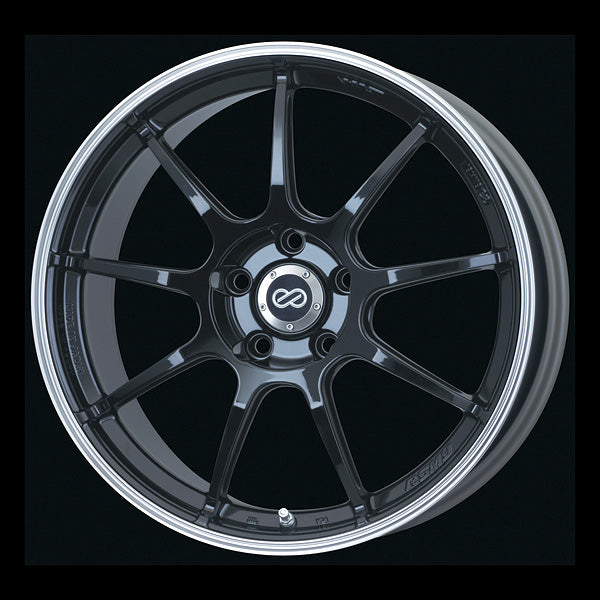 Enkei Japan RSM9 - 18x7.5J - 5x100 - ET: 48 (Piano Black) - JDM-472-875-8048PB