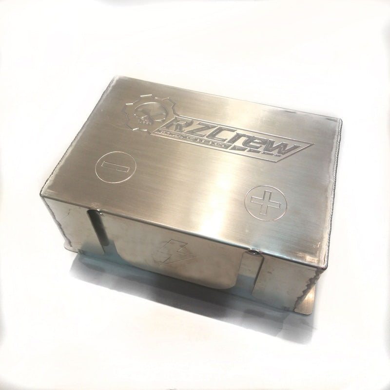 Rzcrew Racing - Billet Racing Battery Box - Universal - RZBATB