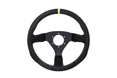 Juran - Racing Steering Wheels - 3 Spokes Suede-350718 - RZCrewEurope