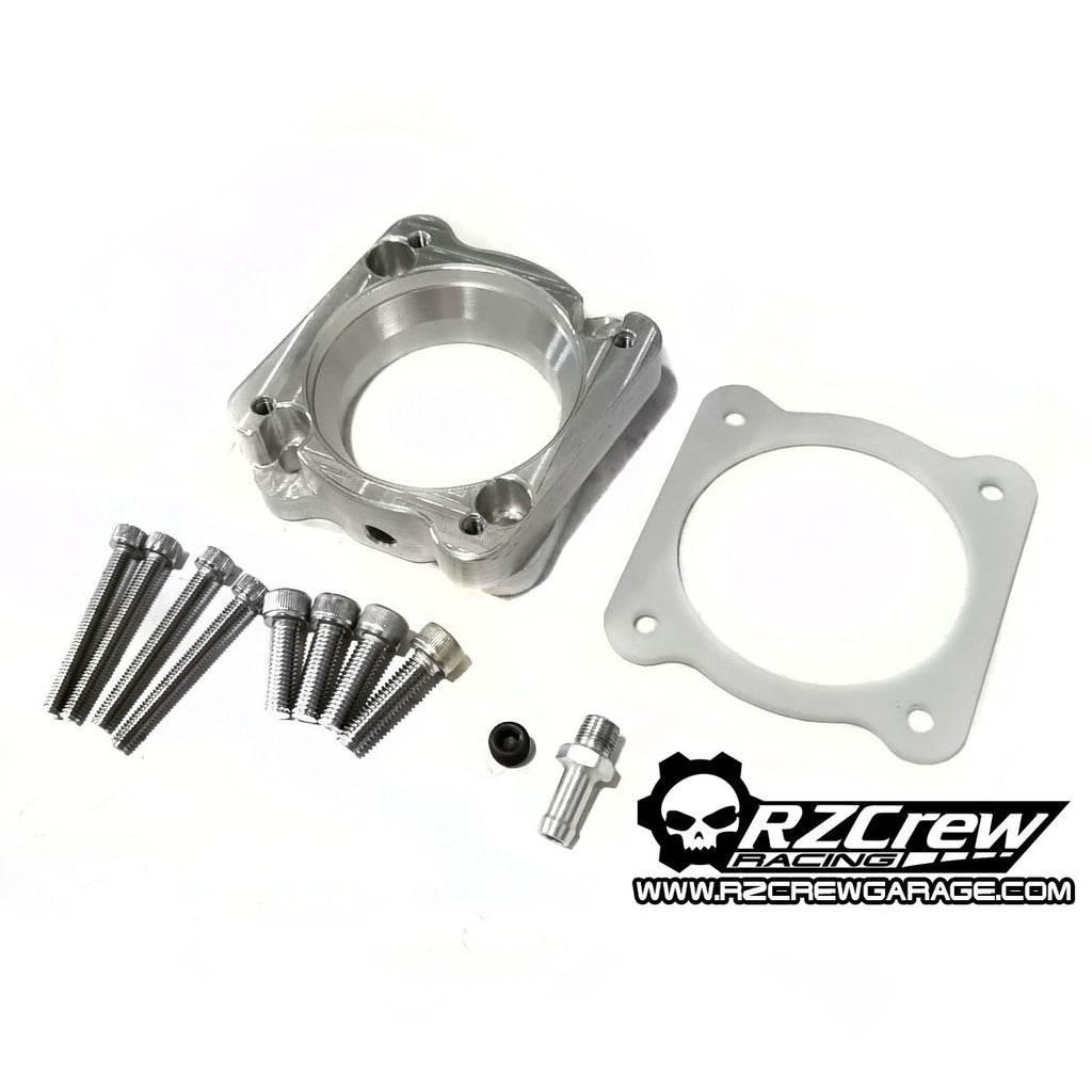 Rzcrew Racing - Throttle Body Adapter For Bosch 74mm to Mitsubishi Lancer Evolution X stock Manifold