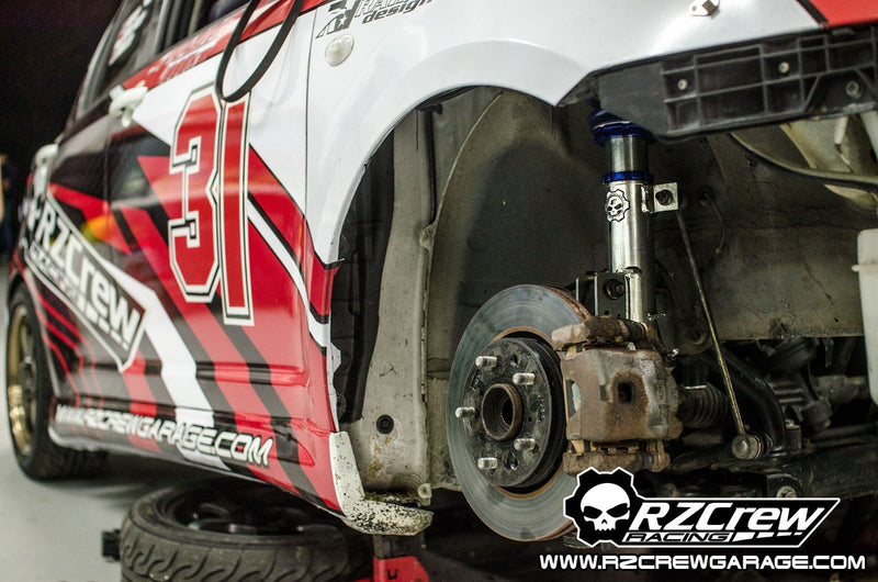 "Rzcrew Racing - GoTrack ""GT"" Monotube Coilover Kit (Front Pillow Ball Camber plate) - Toyota 86 ZN6"