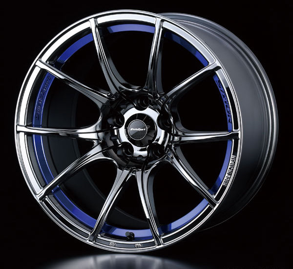 WedsSport SA-10R - 17x7.5J - 5x100 - ET: 48 (Blue Light Chrome) - 5x100 - SA-10R-1775510048-BLC