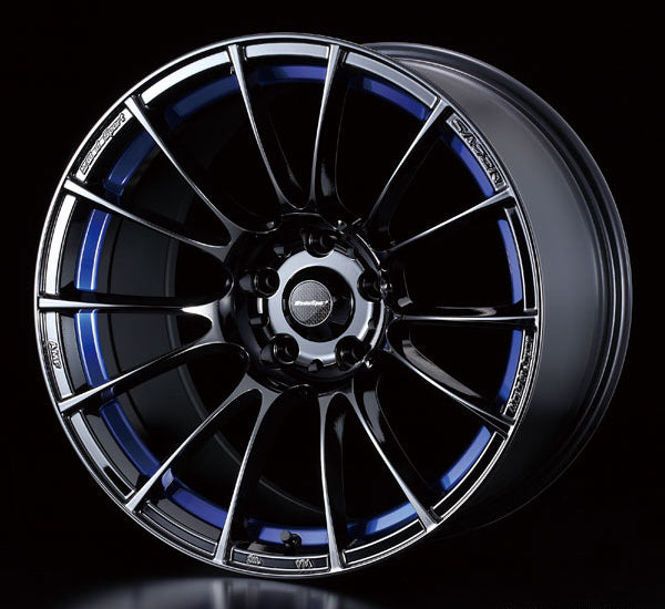 WedsSport SA-72R - 16x7J - 5x114.3 - ET: 32/52 (Blue Light Chrome II) - SA-72R-1675114332-BLCII