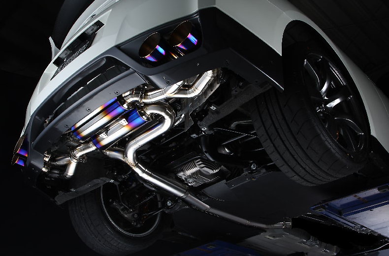 Amuse progress STTI exhaust system - Nissan - GT-R R35 - AMU-PSTTI-R35