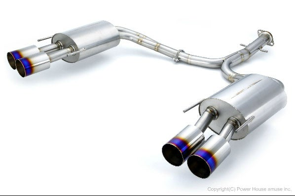 Amuse Euro W (Gold Ring) exhaust system - Honda - legend KB1 - AMU-EUWG-KB1