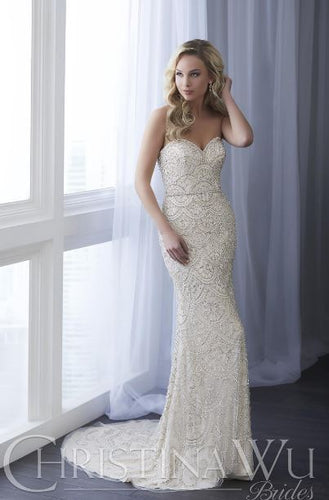 CHRISTINA WU BRIDE COLLECTION 15636