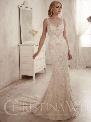 CHRISTINA WU BRIDE COLLECTION 15594