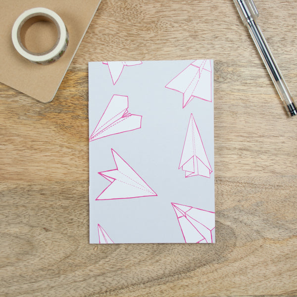 A6 Notebook - Paper Planes