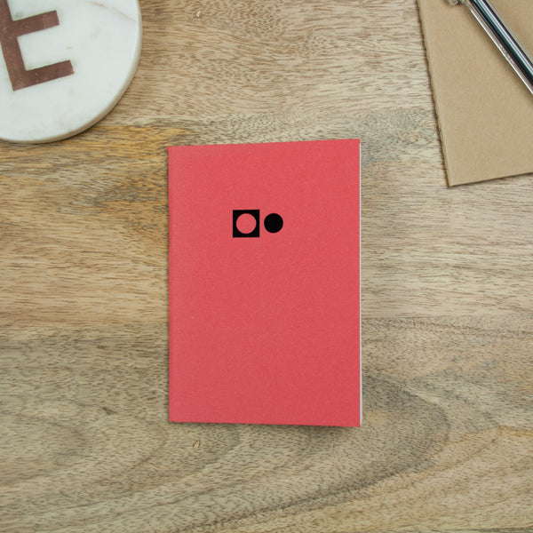 Play B7 Pocket Notebook - Red