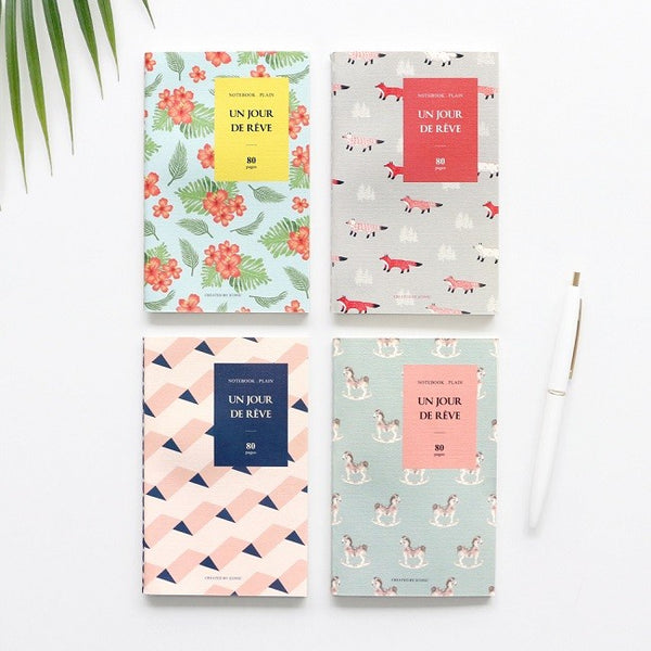 Iconic Pocket Plain Notebook - Pink