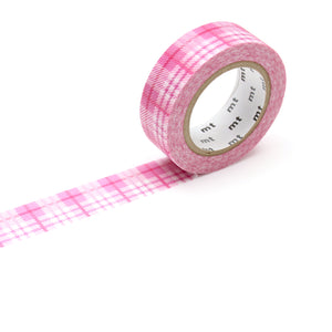 MT Check Light Pink Washi Tape