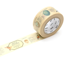 MT Bird Egg Washi Tape