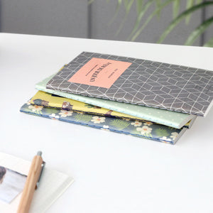 Iconic Pocket Grid Notebook - Grey