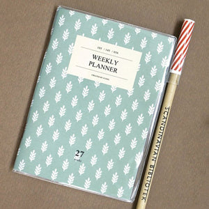 Iconic A6 Weekly Planner v.2 - Mint