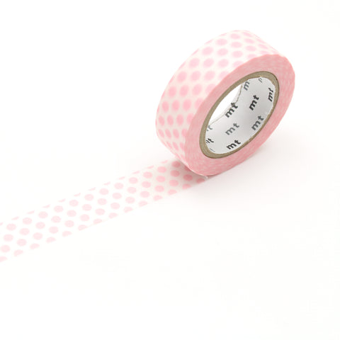 MT Dot Strawberry Milk Washi Tape