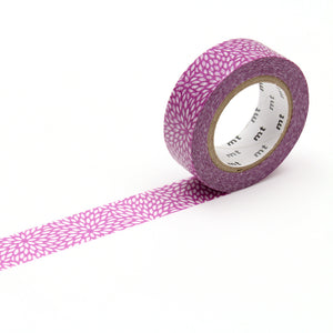 MT Mujinagiku Sumire Washi Tape