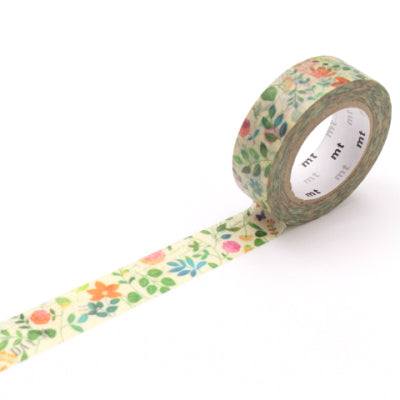 MT Watercolour Flower Washi Tape