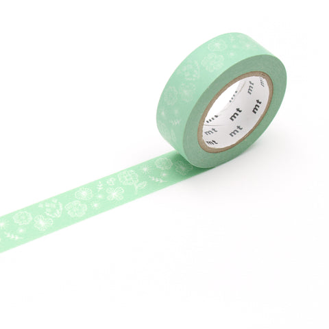 MT Wild Flower Washi Tape