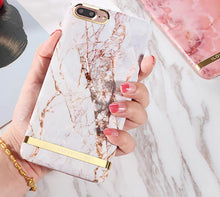 Glossy Gold BarMarble Case For iPhone