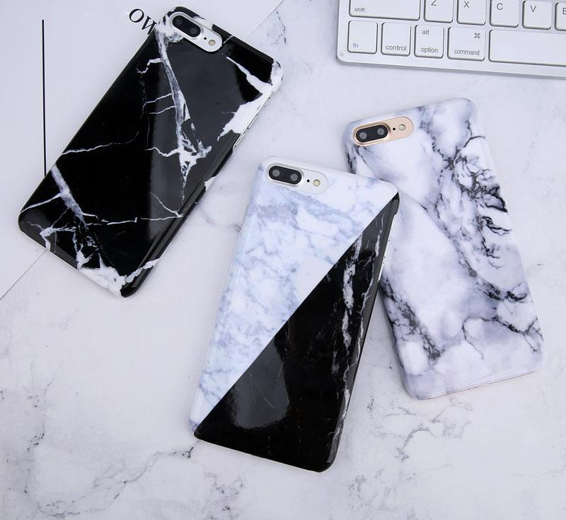 Gradient Marble Stone Case For iPhone