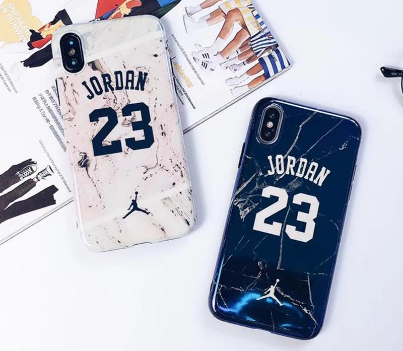 Jordan Marble Phone Case For iPhone