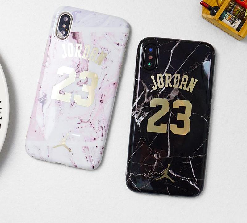 Jordan 23 Marble Case For iPhone