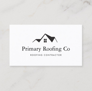House Roof , Roofer , Roofing Premade Logo by Maura Reed - Logo Evolution