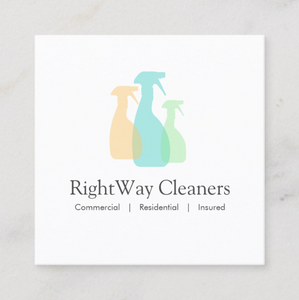 Spray Bottles Premade Logo by Maura Reed - Logo Evolution