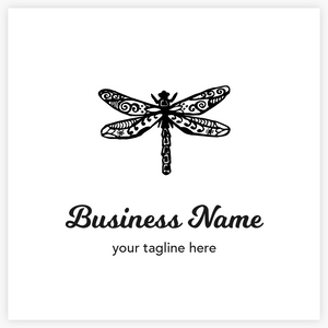 Happy Dragonfly - Logo Evolution