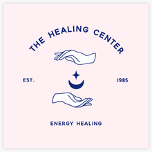 Healing Hands enclosing Crescent Moon and star  Premade Logo -by Maura Reed - Logo Evolution