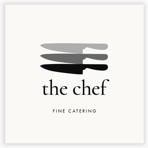 Culinary Chef Knives Premade Logo  by Maura Reed - Logo Evolution