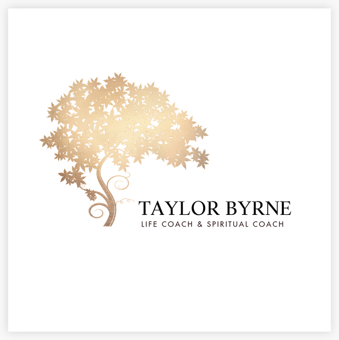 Elegant Gold Tree Premade Logo - Logo Evolution