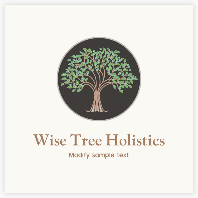 Old Wise Tree Premade Logo -Maura Reed -  Logo Evolution