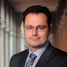 Porträt von Thomas Bleier, Chief Information Security Officer