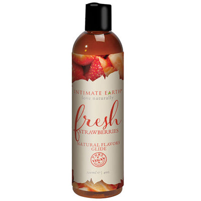 Fresh Strawberries Natural Flavors Glide 120ml