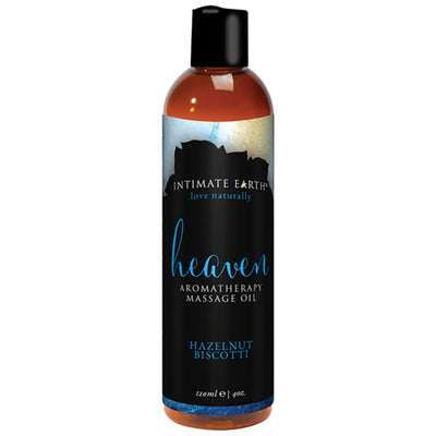 Heaven Hazelnut Biscotti Massage Oil 120ml Green Tea
