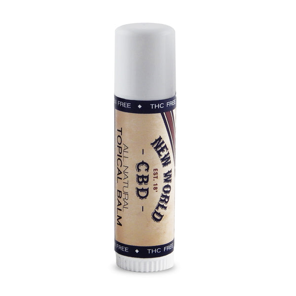 New World CBD Balm Plus