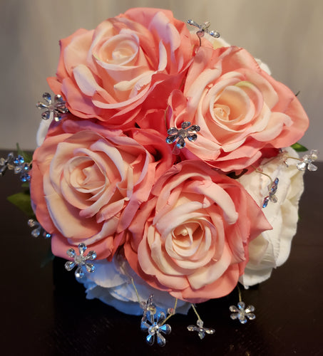 English Rose Garden Bouquet