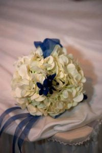 Bridesmaid Bouquet Hydrangea and Stefanotis