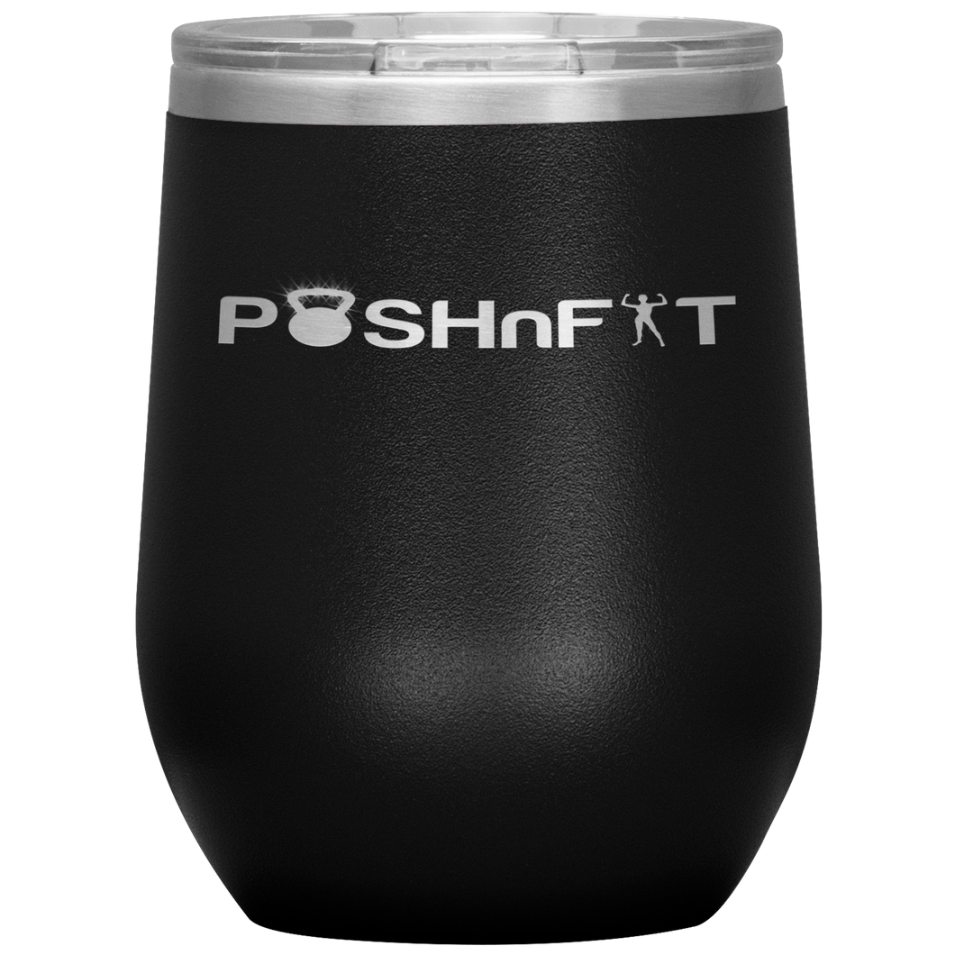POSHnFIT Signature Collection- Wine Tumbler