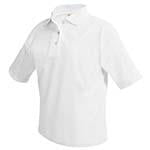 Dri-fit White Polo