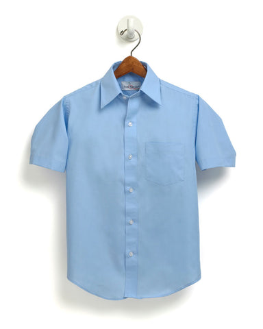 Boys Lt. Blue Oxford